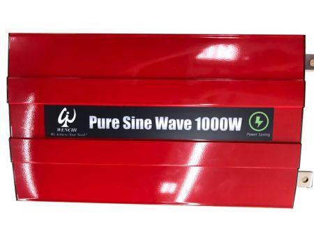 1000W LCD SMART PURE SINE WAVE POWER INVERTER 12V DC to 110V AC - 1000P12
