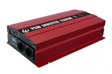 1500 W pure sine wave power inverter 12V//24V//48V à 120//220//230//240V 50//60HZ LCD