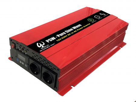 2000W LCD SMART PURE SINE WAVE POWER INVERTER 12V DC bis 220V AC - WINVPA20 2000W      Reiner Sinuswellen-Wechselrichter