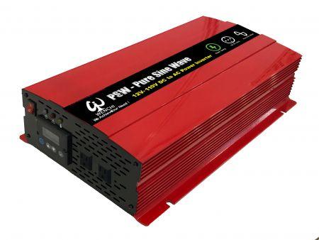 2000ワットLCDスクリーンディスプレイスマート正弦波電力変換器12VDCから220VAC - 2000P12