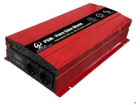 2500瓦LCD螢幕顯示智慧型正弦波電源轉換器12V DC轉220V AC - DC轉AC 2500瓦LCD智慧型正弦波電源轉換器