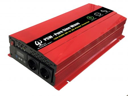 3000W LCD SMART PURE SINE WAVE POWER INVERTER 12V DC to 220V AC - WINVPA30 3000W Pure Sine Wave Inverter