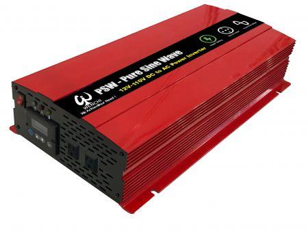 3000WLCDスクリーンディスプレイスマート正弦波電力変換器12VDC〜220V AC - 3000P12