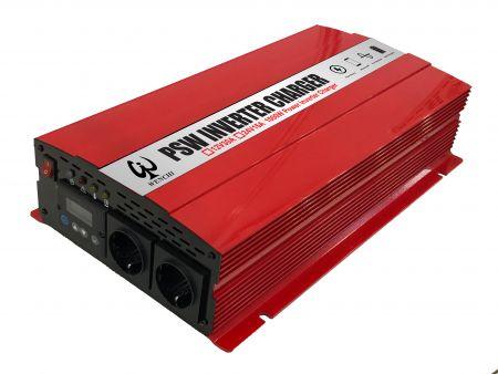 1000W LCD PURE SINE WAVE POWER INVERTER 220V mit LADEGERÄT 12V30A oder 24V15A - PSW Wechselrichter-Ladegerät1000W