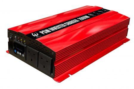 INVERSOR DE POTENCIA DE ONDA SINusoidal PURA LCD 2000W 220V con CARGADOR 12V30A o 24V15A - Cargador inversor PSW 2000W