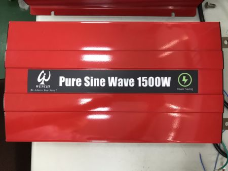 1500WLCDスクリーンディスプレイスマート正弦波電力変換器12VDC〜220V AC - 1500P12