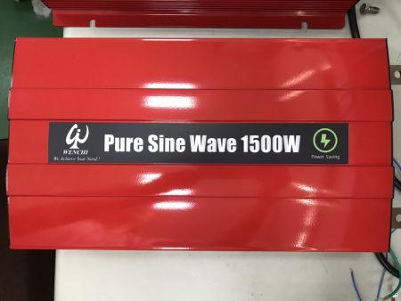 1500W LCD SMART PURE SINE WAVE POWER INVERTER 12V DC bis 220V AC - WINVP15 1500W      Reiner Sinuswellen-Wechselrichter