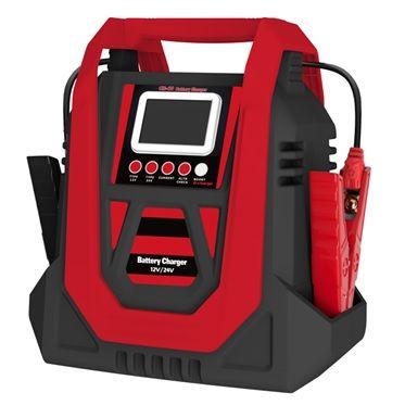 CARGADOR DE BATERÍA DE PLOMO ÁCIDO IP20 12V24V LCD - Cargador de batería de plomo-ácido WCR40 IP20