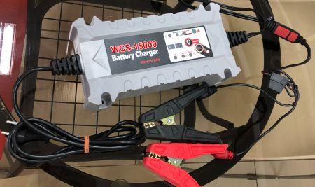 IP54 6V5A / 12V15A /24V7.5Aスマート     バッテリー充電器 - WCS-15000バッテリー充電器