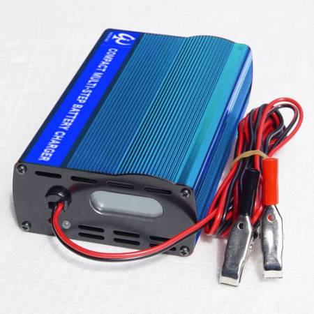 COMPACT 24V7A MULTI-STEP BATTERY CHARGER - WHC 24V7A LEAD-ACID BATTERY CHARGER