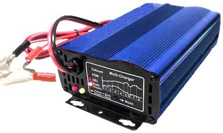 アドバンスバージョン8ステート12V10A多機能スマートカー     バッテリー充電器 - ウェンチ8ステージ1210マルチチャージャー