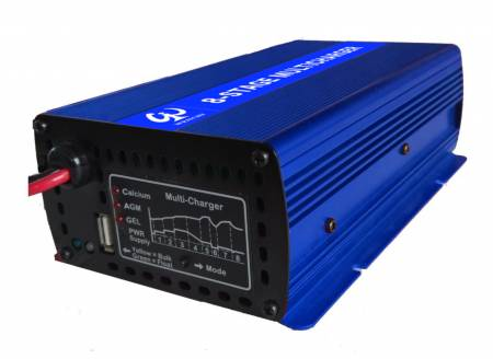 ADVANCED MULTI-STAGE BATTERY CHARGER 24V12A - WENCHI 8 Stage  2412 MultiCharger