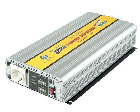 1500ワット 矩形波電力変換器12V / 24VDCから220VAC - アナログ正弦波パワーインバーター1500W