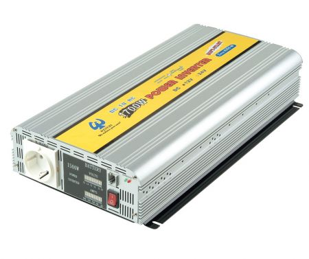 1700W MODIFIED SINE WAVE POWER INVERTER 12V DC to 110V/220V AC - Modified Sine Wave Power Inverter  1700W