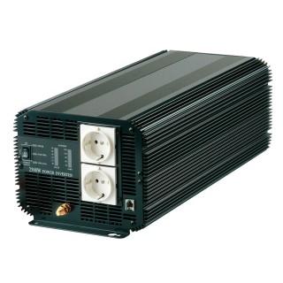 INVERSOR DE POTENCIA DE ONDA SINusoidal MODIFICADA 2500W 12V DC a 110V / 220V AC - Inversor de energía de onda sinusoidal modificada 2500W