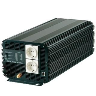 3000ワット 矩形波電力変換器12V / 24VDCから220VAC - アナログ正弦波パワーインバーター3000W