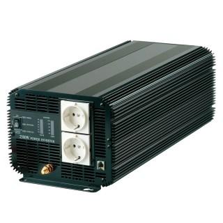 INVERSOR DE POTENCIA DE ONDA SINusoidal MODIFICADA 4000W 12V DC a 110V / 220V AC - Inversor de energía de onda sinusoidal modificada 4000W
