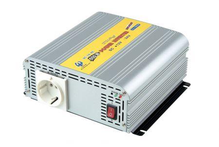 INVERSOR DE POTENCIA DE ONDA SINusoidal MODIFICADA 600W 12V DC a 110V / 220V AC - Inversor de energía de onda sinusoidal modificada 600W