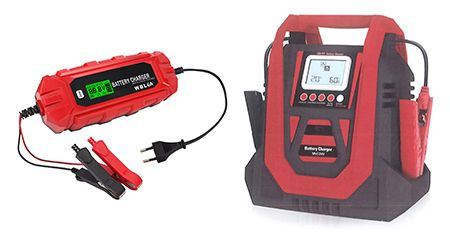 AUTOMATIC 7-MODE BATTERY CHARGER