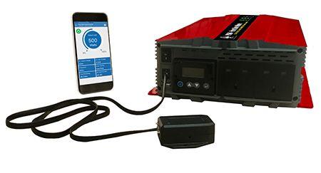 LCDディスプレイ設定とアプリを備えた非グリッド接続DC-AC正弦波インバーター