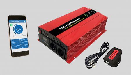 智慧型正弦波逆變器APP&藍芽無線模組