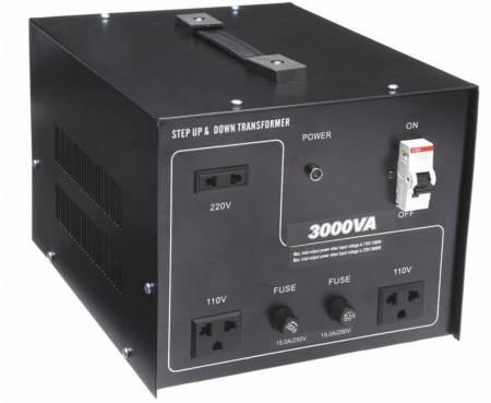110V / 220VACから220V / 110VACトランス-3000VA - 聞祺3000VAステップアップおよびステップダウン110V-220Vから220V-110Vへの電圧安定器コンバーター