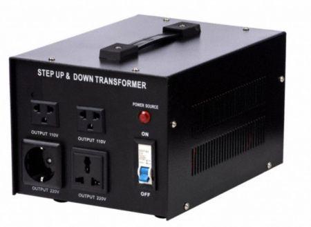 アップグレードバージョン110V / 220VACから220V / 110VACトランス-3000VA - 3000VAステップアップおよびステップダウン110V-220Vから220V-110V安定化電圧コンバーターのアップグレードバージョン