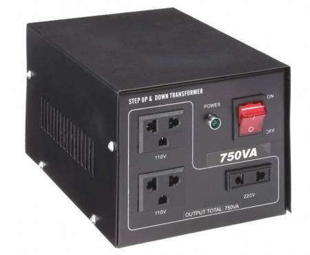 110V / 220VACから220V / 110VACトランス-750VA - 聞祺750VAステップアップおよびステップダウン110V-220Vから220V-110Vへの電圧安定器コンバーター