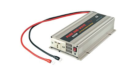 600 W PURE SINE WAVE POWER INVERTER 12 V / 24 V DC bis 115 V / 230 V AC