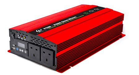 PSW SERIES: DETACHABLE LCD SMART PURE SINE WAVE INVERTER with APP