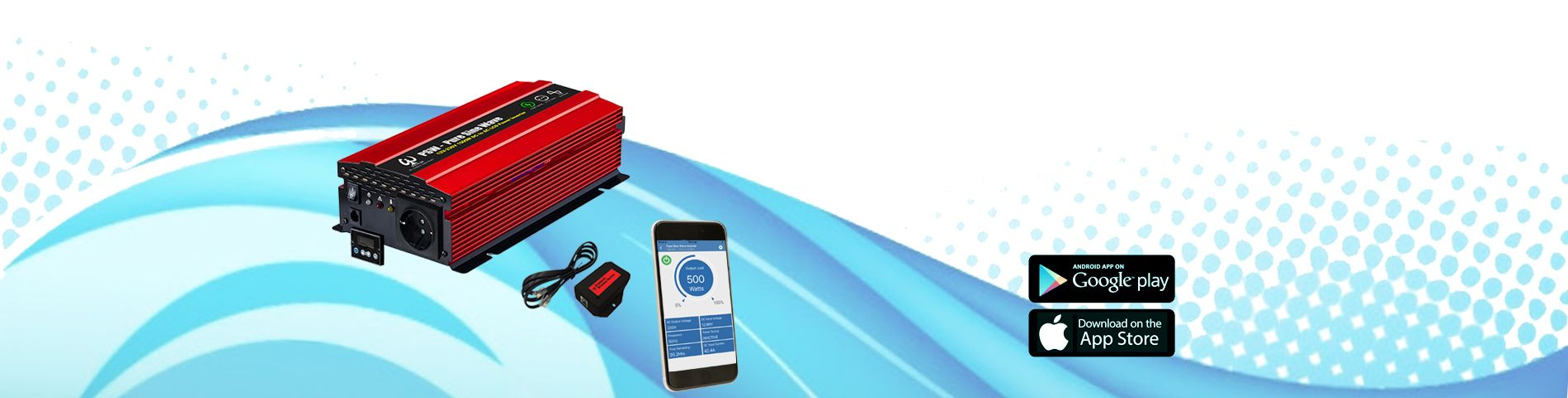 智慧型逆變器 APP & 藍芽連線功能