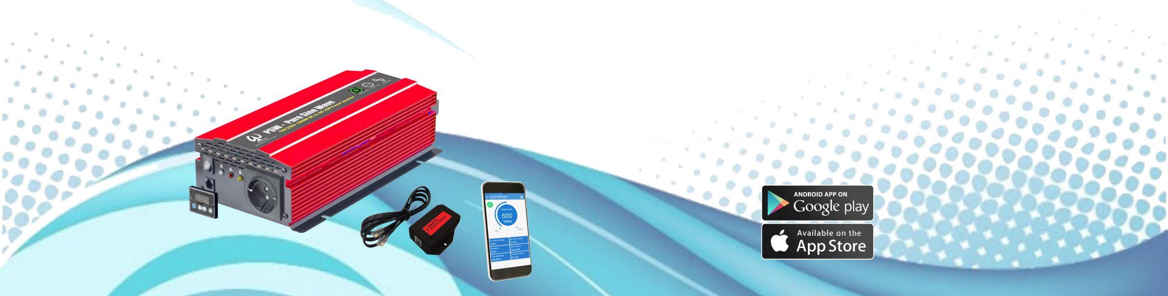 Smart Inverter App & Bluetooth