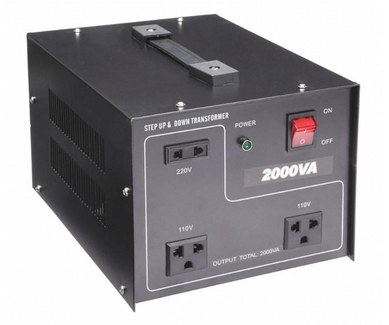 聞祺2000VA升壓降壓110V-220V to 220V-110V穩壓轉換器