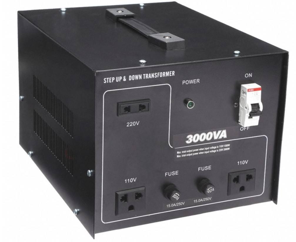 Ac To Ac 3000va Step Up Amp Down Transformer Power