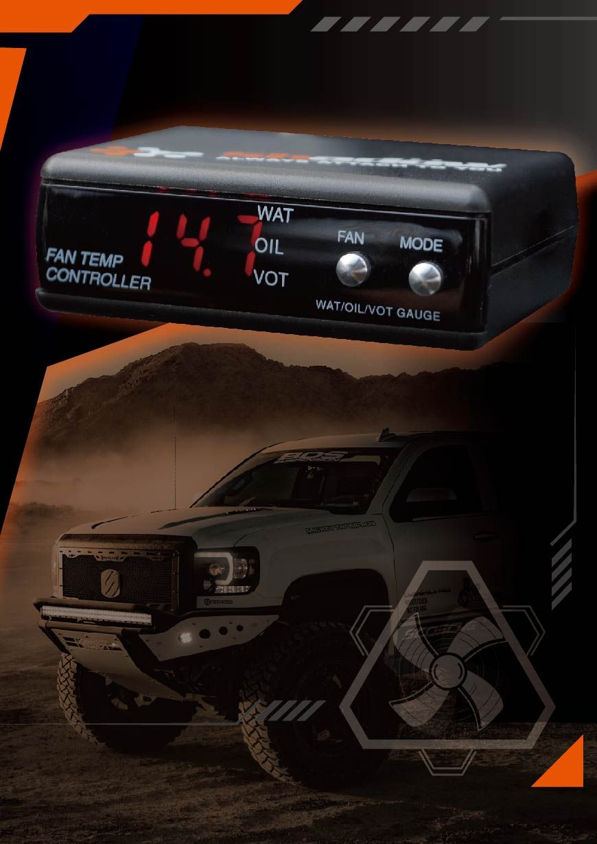 Engine Cooling Fan Controller can Coolant Engine Fastly.