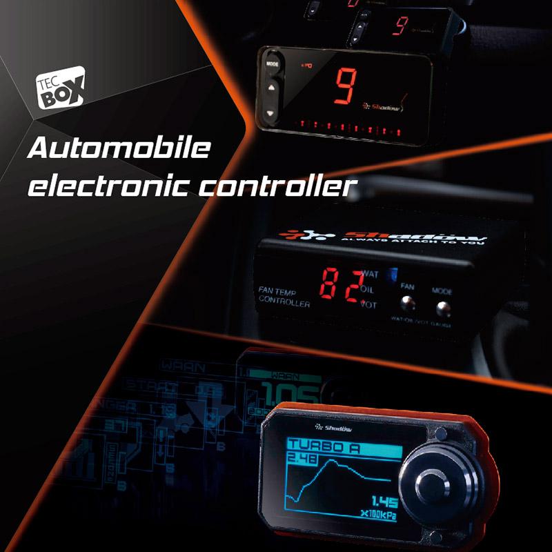 O controlador eletrônico do automóvel pode alterar as características do carro.