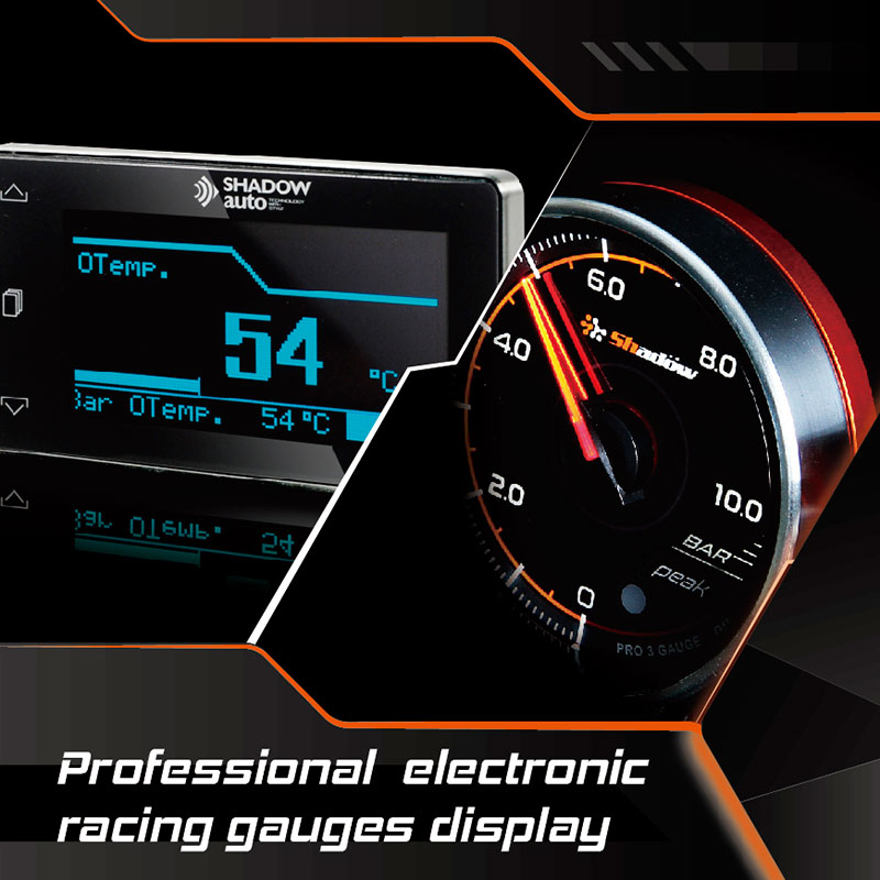 Professional electronic gauges own the core of fast, accurate and delicate.