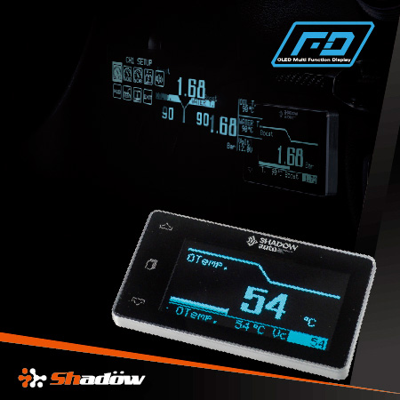 OLED gauge HUD display function is available.