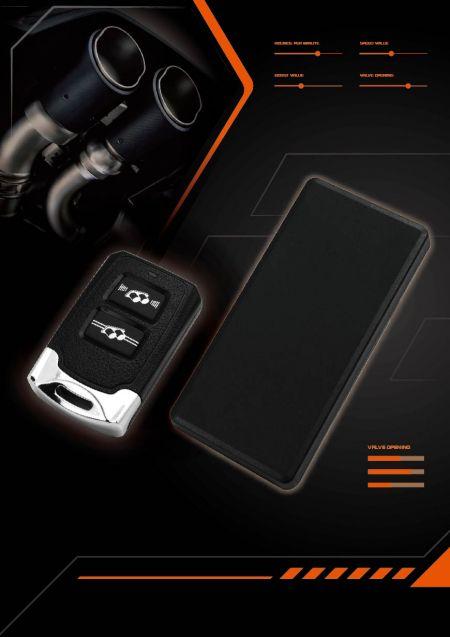Regolatore della valvola di scarico Shadow con telecomando Bluetooth - Comando a distanza della valvola di scarico elettrica comando a distanza della valvola del tubo di scarico.