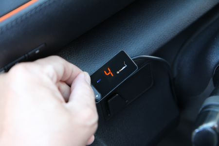 The electronic throttle controller has a friendly user interface and you could easily switch.