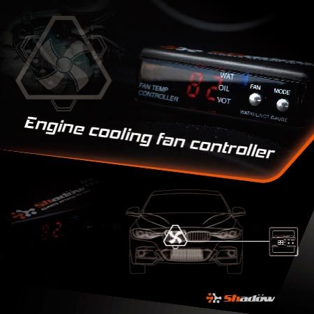 Set the fan controller to be opened in the temperature range of 70°C ~ 100°C.