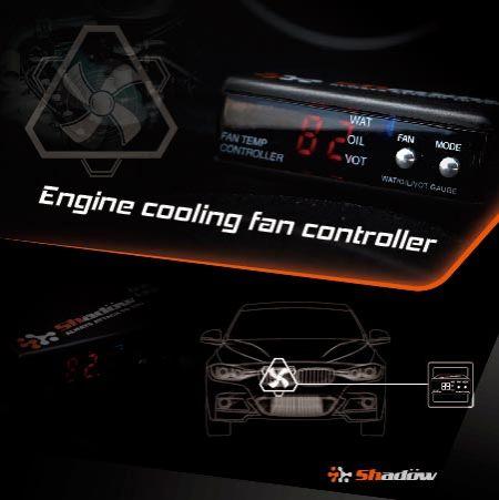 ファンコントローラーを70°C〜100°Cの温度範囲で開くように設定します。