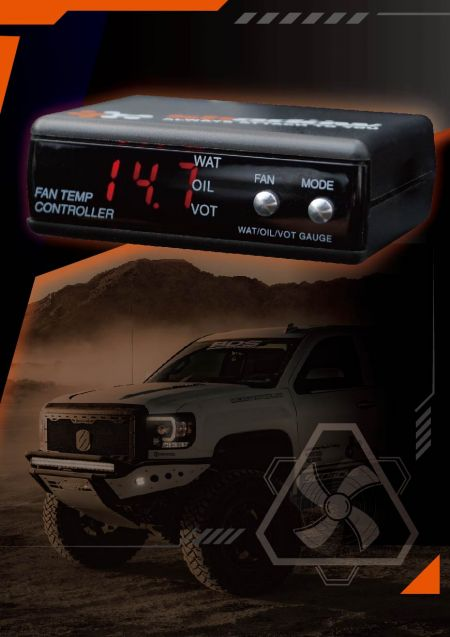 Regolatore digitale della ventola del radiatore per autoveicoli Shadow - Il controller della ventola di raffreddamento del motore può raffreddare rapidamente il motore.