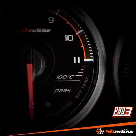 L'indicatore EGT può monitorare la temperatura di scarico del motore per stimare il rapporto aria-carburante.