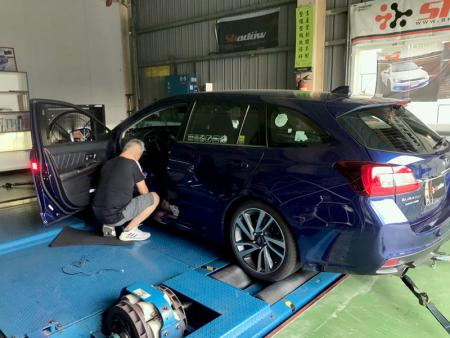 It can test the product efficiency by the data from dyno machine.