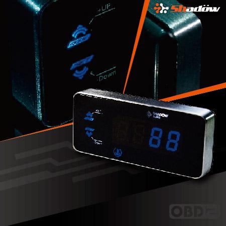 Il multimetro digitale OBD2 ha pulsanti retroilluminati nascosti.
