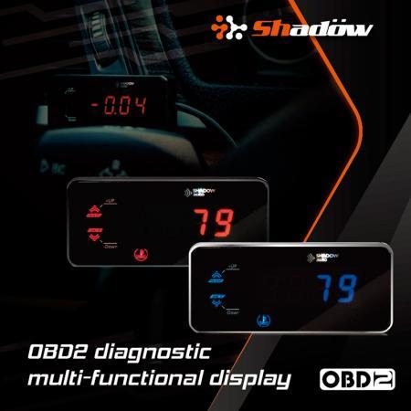 Display multifunzione diagnostico OBD2 - Display multifunzione OBD2 Offre due versioni di luce tra cui scegliere.