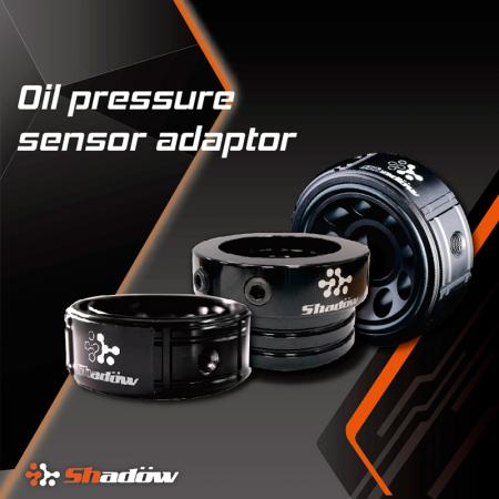 Oil Pressure Sensor Adaptor - It can read the oil temperature and pressure at the same time.