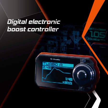 Boost controller increases the HP to let the vehicle accelerates faster.
