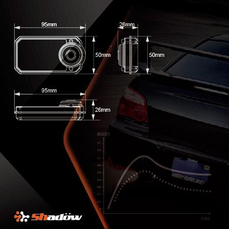 Shadow渦輪控制器全新外觀設計,搭配OLED顯示技術。